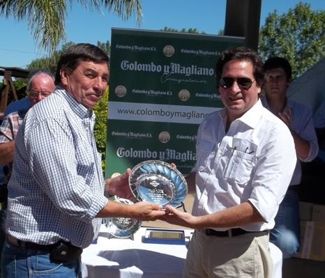 Award granted at Curupí Porá for the quality of our cattle